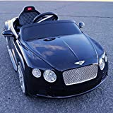 2015 Licensed Bentley Continental Gt Kids/boy/girl Ride on Toy/car with Remote Control-black