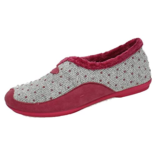 VULCA-BICHA 4339 Zapatillas Cerradas Mujer Zapatillas CASA Cereza 35