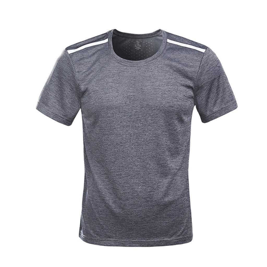 aliveGOT Men/'s Dry-Fit Moisture Wicking Active Athletic Performance Crew T-Shirt