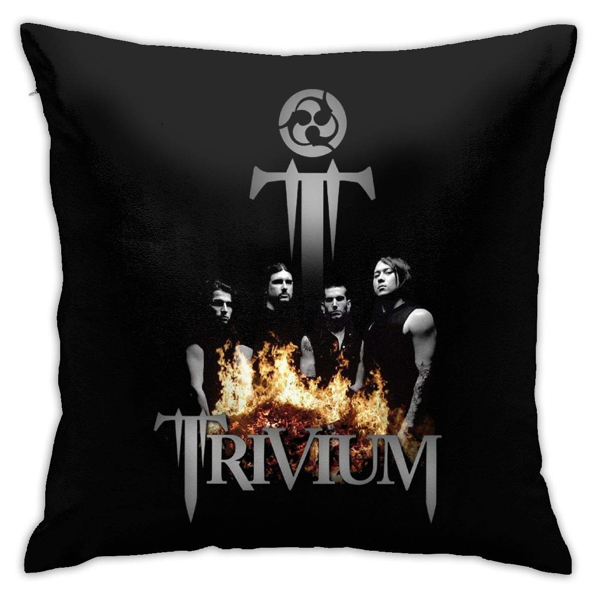 Qq2-Army-Store Trivium Pillow Covers Sofa Home Decor Pattern Pillow Covers