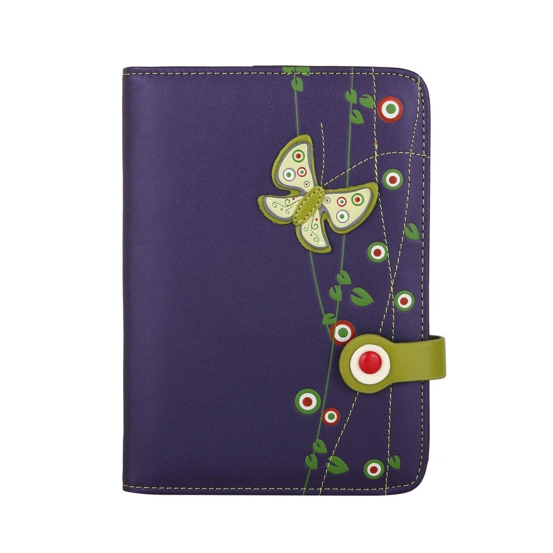 MENKAI Agenda tapa cubierta PU 88 pag. Mujer diseño mariposa ...