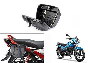 Speedwav Bike Stylish Side Luggage Holder With Lock Tvs Victor New