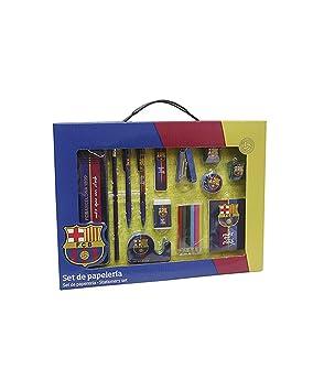 Set papeleria en caja FC Barcelona: Amazon.es: Juguetes y juegos