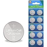 スリーアール(3R) コイン電池 CR2016 H 90mAh リチウムボタン電池 3V 10個セット