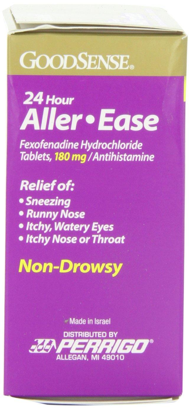 Fexofenadine hcl 180 mg 24 hour.doc - Amazon Com Goodsense Aller Ease Fexofenadine Hydrochloride Tablets 180 Mg Antihistamine 45 Count Health Personal Care