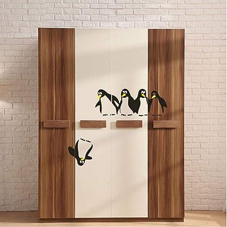 Divertido Pingüino Cocina Etiqueta Engomada Del Refrigerador ...