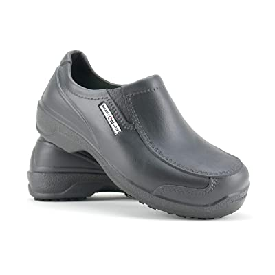 SMART ON GRIP Safety Toe Shoes for Men - Non Slip Waterproof Professional Composite Toe Cap Shoes: Shoes