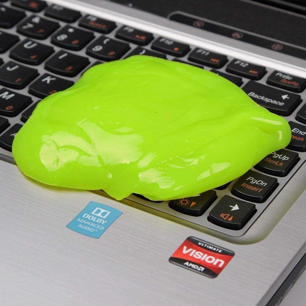 SYFIELD Magic Sticky Jelly Destop de Gel limpiador de teclado para portátil ordenador polvo remover Flexible suave adhesivo reutilizable Magic de ...