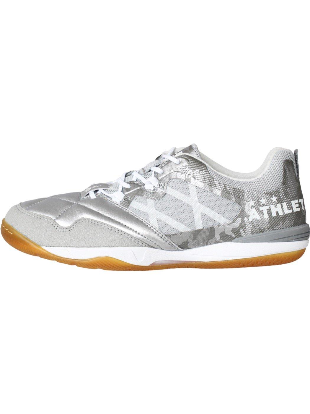 ATHLETA(アスレタ) O-Rei Futsal Falcao 11003-SIWH B075M8Z551 25.5|シルバー/ホワイト シルバー/ホワイト 25.5