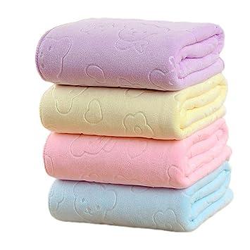 rokirs Baño Suave Absorbente de Agua Toalla Cuadrada Juego de Toallas de baño Juegos de Textiles de baño: Amazon.es: Hogar