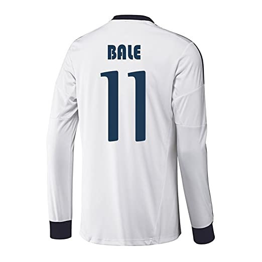 new arrival d741f 5ab49 adidas BALE #11 Real Madrid Home Jersey Long Sleeve 2012-13