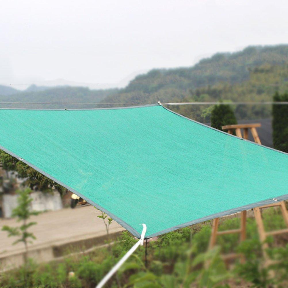HAIPENG Schattierungsnetz Schatten Netting Mesh Verdicken Polyethylen Plane Wärmeisolierung Windschutz Schwerlast Antialterung Angepasst (Farbe   Emerald Grün-2.8x4.8m)