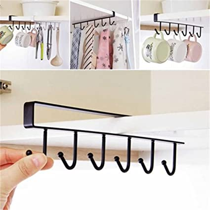 Amazon Com Unke 6 Hooks Dainty Little Tea Cup Holder Hang Kitchen