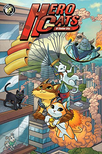 Hero Cats of Stellar City: Year One Hardcover by Action Lab Entertainment (Image #1)