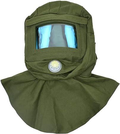 Thicken Air Safety Sandblast Helmet Sand Blast Hood Protector Mask Safe JB