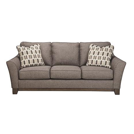 amazon com benchcraft janley contemporary living room sofa 2