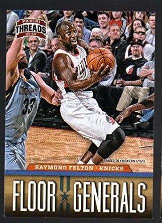 2012 13 Panini Threads Floor Generals 10 Raymond Felton