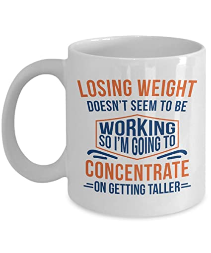 Amazon.com: Losing Weight Doesn\'t Seem To Be Working Funny ...