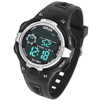 Amazon.com: Reloj digital para niños, deportivo para niñas ...