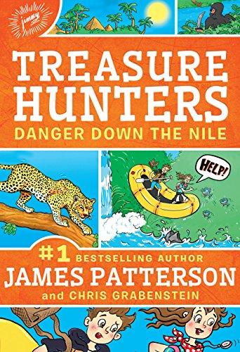 Treasure Hunters: Danger Down the Nile (Treasure Hunters Series Book 2) (Life Art Africa)