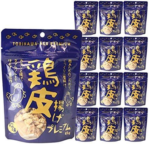 【大人気】 鶏皮揚げプレミアム 45g×12袋セット お酒のつまみ 話題のおつまみ