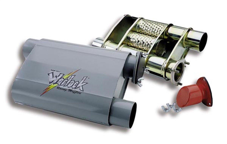 Flowtech 50552FLT WarlockBYPASS Racing Muffler