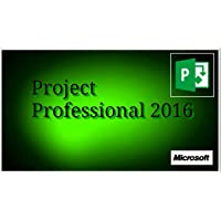 Microsoft Office Project 2016 Professional 1PC Original Vollversion 32/864-BitVollversion