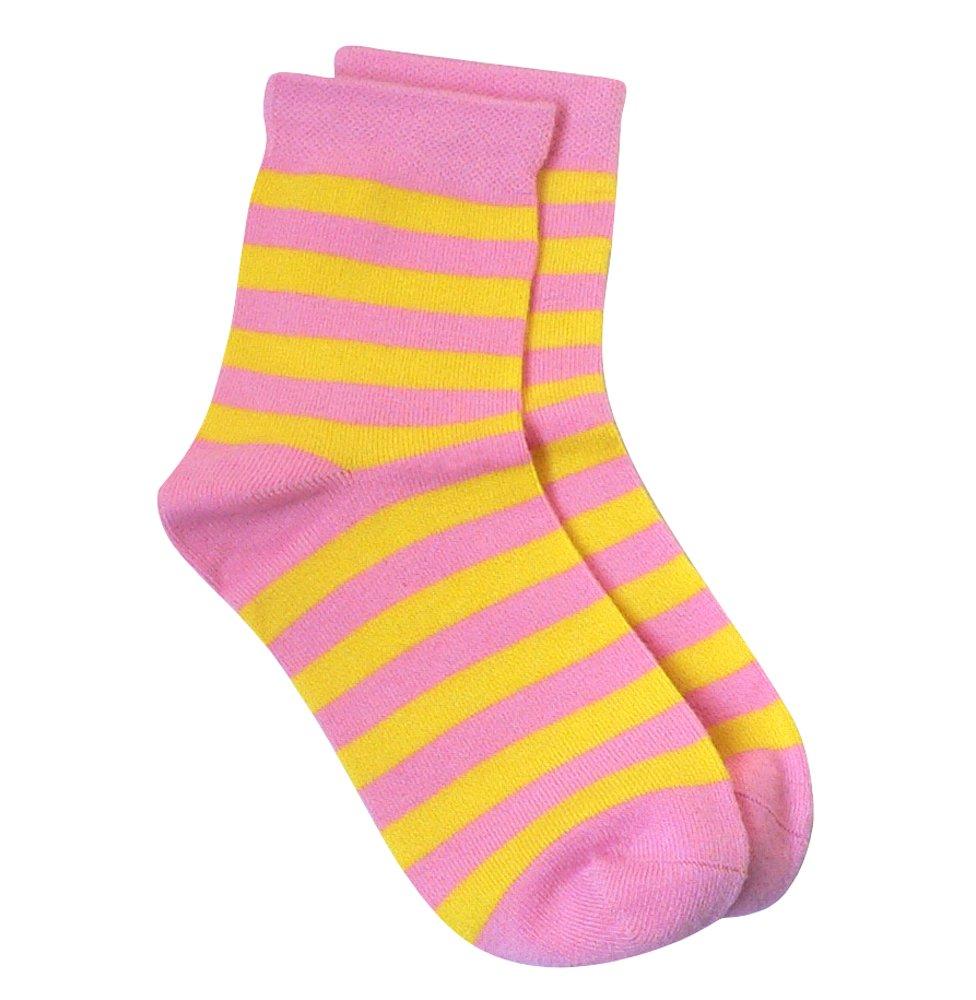 Rambutan Kids Striped Seamless Colorful Bamboo Socks US 13-2 RY1-004