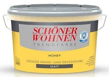25 Liter Schöner Wohnen Farbe Trendfarbe Honey Matt Amazonde