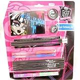 Stationery set 'Monster High' black rose (14 pieces).