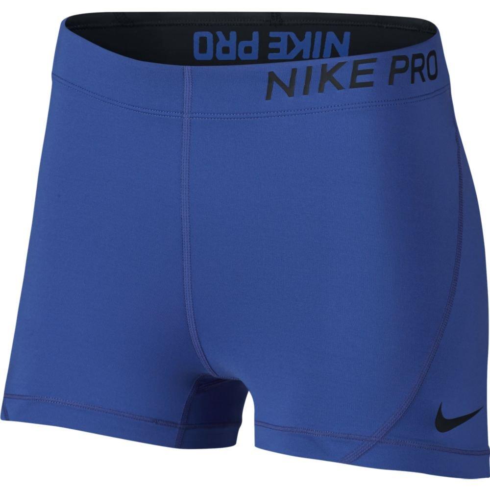 Women's Nike Pro 3IN Short (Game Royal/Black, Medium)