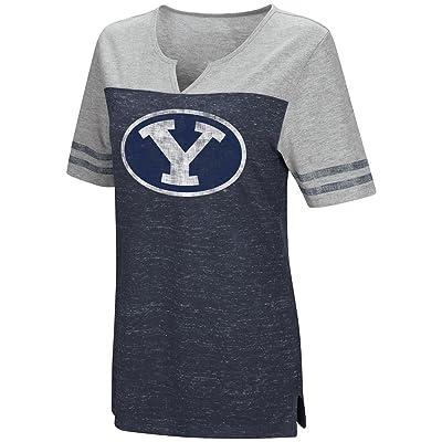 Womens BYU Cougars V-Neck Tee Shirt