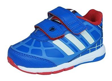 Adidas Zapatillas Dy Spider-Man CF I Blanco/Azul/Rojo EU 19 MSidgdgyN