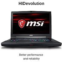"HIDevolution MSI GT75 8SG Titan 17.3"" FHD 144Hz portátil para Juegos | 2.9 GHz i9-8950HK, RTX 2080, 32 GB 2666 MHz RAM, PCIe 1 TB SSD + 1 TB SSD |, 32GB DDR4/2666MHz RAM, PCIe 256GB SSD"