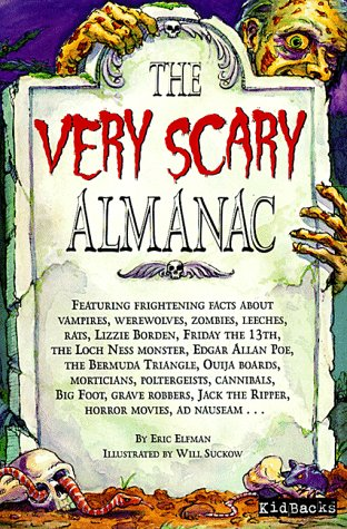 book cover of The Very Scary Almanac