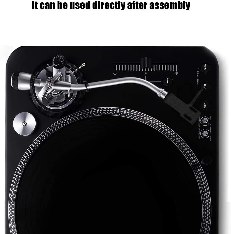 ASHATA Plattenspieler-Headshell Plattenspieler-Phonograph-Player Headshell High-End-Phono-Cartridge-Headshell-Plattenspieler-Kit f/ür High-End-Phonographen//Tonabnehmer Cartridge-Combo-Kit Blau