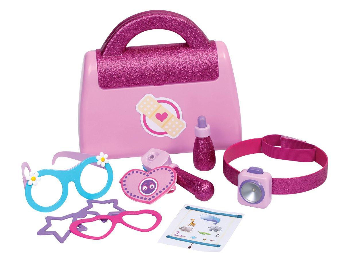 Disney Junior Doc McStuffins Eye Doctor Bag Playset: Amazon.co.uk ...
