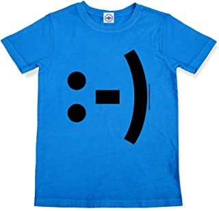 product image for Hank Player U.S.A. Happy Face Emoticon Boy's T-Shirt
