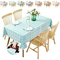 Waterproof Tablecloth,Oilproof, Wipeable,Stain-Resistant PVC Table Cloth,Wipe Clean Table Cover for Dining Table, Buffet…