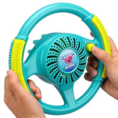 Kid Galaxy Mr. Bubble Steering Wheel: Toys & Games