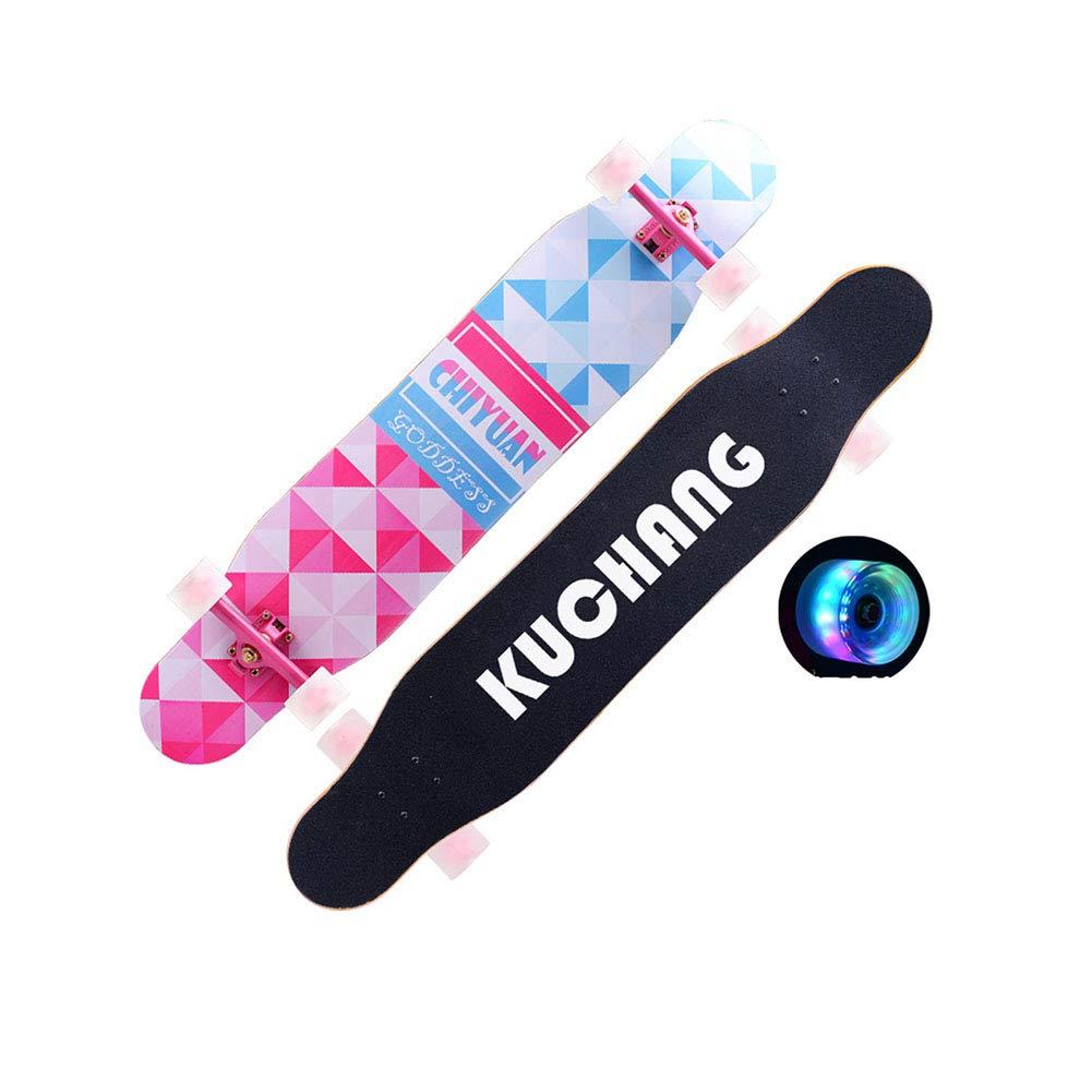 正規通販 ZX ロングボード スケートボード 女の子 エルク) 男の子 初心者 スケートボード 若者 三 アダルト フラッシュホイール ダブルチルト 4ラウンド スクーター (色 : エルク) B07GXMF4R5 三 三, フジミムラ:61b49ae3 --- a0267596.xsph.ru