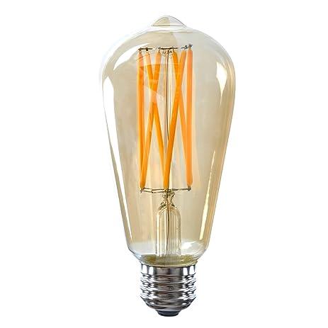 8w led filament bulbsunmeg vintage edison light bulbst64 8w bulb 700 lumens