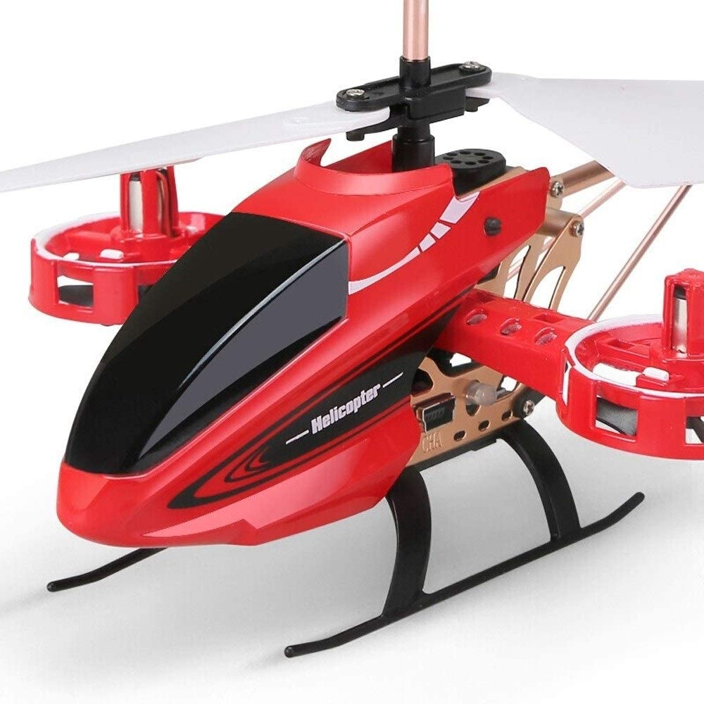 B081PK41M8 Ycco Remote Control Aircraft Drone 4.5 Pass-Resistant Side Flying Version Charging Gyroscope Helicopter Model Toy Alloy Version New for Extra Stability Toy/Game/Child/Kid/Beginner Gifts (red) 61SPC-XpOeL.SL1000_