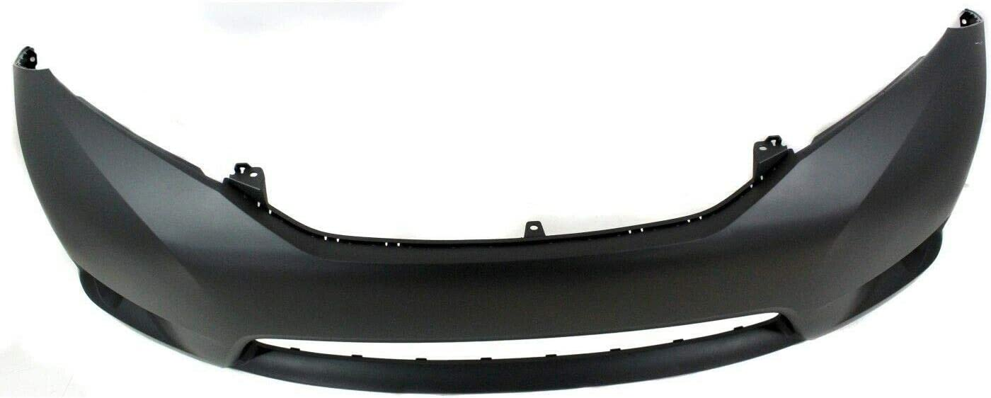 Front Plastic Bumper Cover Fascia For 2011-2017 Toyota Sienna Base LE L XLE Mini Van 11-17 TO1000369 5211908904 2012 2013 2014 2015 2016 Primed and Ready for Paint New With Fog Light Holes