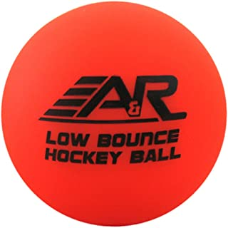 A&R Sports Faible Rebond Street Hockey Balle Orange LBOBALL