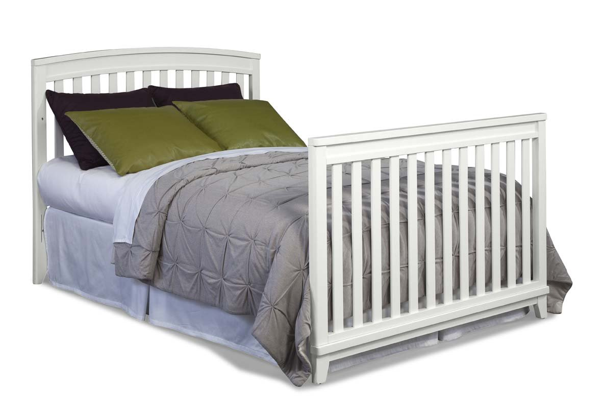 Imagio Baby Midtown Full Size Conversion Bed Rails, White by Imagio Baby