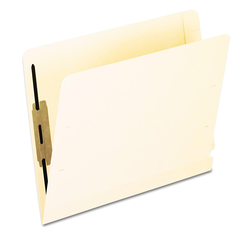 B00006ICBE Pendaflex 13160 Laminated Spine End Tab Folder with 2 Fastener, 11 pt Manila, Letter (Box of 50) 61SPEPzFUNL