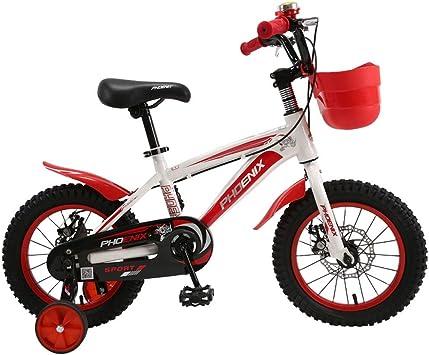 Bicicleta de los niños 3-5-7 Muchacho de los años 14/16 Pulgadas ...