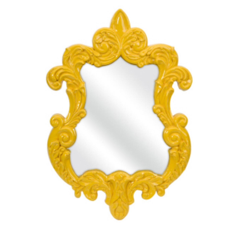 30 mustard yellow elegant baroque style decorative wall mirror 30 mustard yellow elegant baroque style decorative wall mirror amazon kitchen home amipublicfo Images