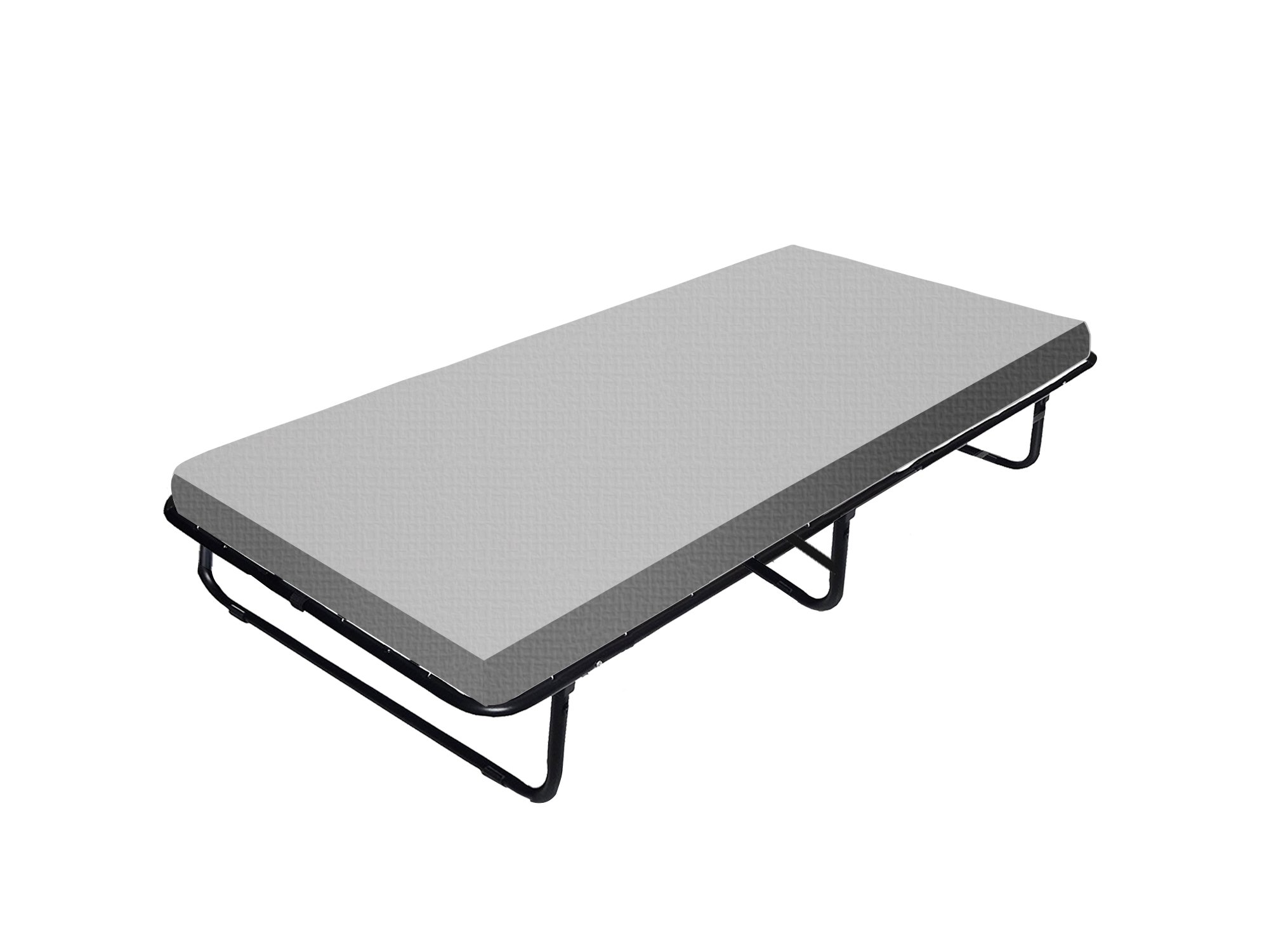 Continental Sleep Mattress,  48''-inch Fully Assembled Portable Rollaway Folding Cot Bed with 48-Inch Mattress